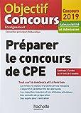 Préparer le concours de CPE : Admissibilité et admission