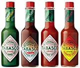Tabasco Salsa - Set di 4 gusti - In scatola