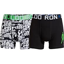CR7 CRISTIANO RONALDO Jungen Enganliegende Boxershorts Line Trunk 2-Pack