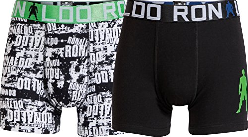 CR7 Cristiano Ronaldo BOYS Boxershorts Jungen 2-Pack (CR7-8400-5100-516-134/140)