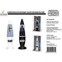 Lampada Lustrini Star Wars Darth Vader Led cambia colori Shake n shine 2 modelli aleatori