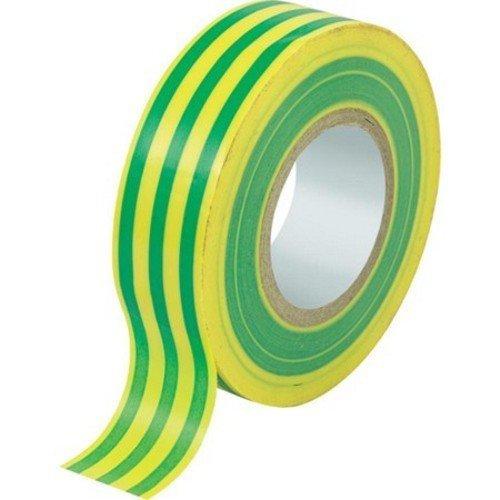 set-10-insulating-tape-pvc-self-extinguishing-maurer-mm15xmt-10-yellow-green-colors