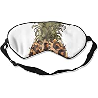Comfortable Sleep Eyes Masks Leopard Pineapple Pattern Sleeping Mask For Travelling, Night Noon Nap, Mediation... preisvergleich bei billige-tabletten.eu