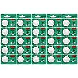 25 pack cr2032 batteria 3v litio cr 2032