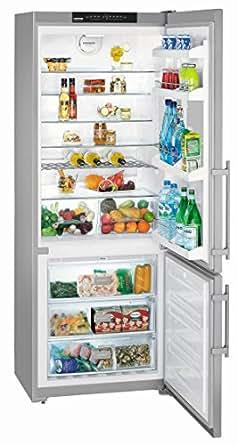 Liebherr CNesf 5113-2 Comfort Autonome 499L A+ Acier inoxydable - réfrigérateurs-congélateurs (Autonome, Acier inoxydable, Droite, Verre, 499 L, 453 L)