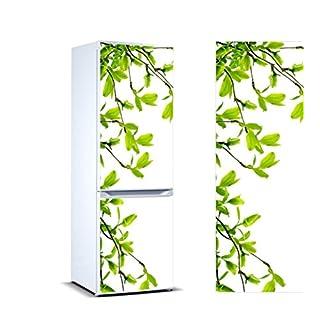 Oedim Stickers Autocollants Frigo 3D Branches d'Amandier Mesure 185 x 60 cm| Vinyle Adhésif Résistant et Facile d'appliquer |Étiquette Adhésive Décorative D'une Conception Élégante|