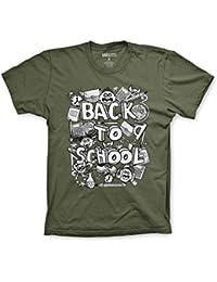 Varsity Punk Back To School Doodles T-Shirt