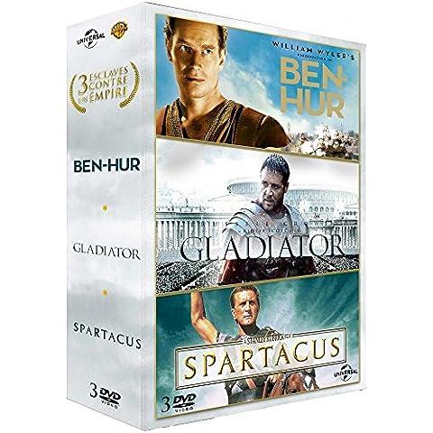 3 esclaves contre un empire - Coffret: Ben-Hur + Gladiator + Spartacus