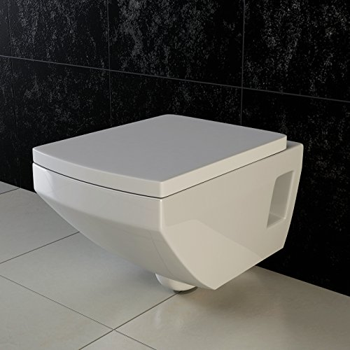 vilstein wand wc h nge wc toilette tiefsp ler mit. Black Bedroom Furniture Sets. Home Design Ideas