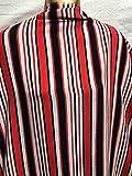 Cheapest Fabrics UK Polyester-Georgette-Streifen,