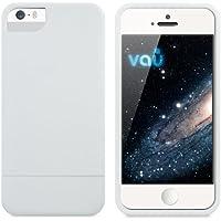 vau Snap Case Slider - matte white - zweigeteiltes Hard-Case für Apple iPhone 5 & iPhone 5S