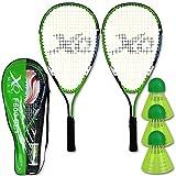 Badminton Set - Speed Badminton Set - Speed Badminton Schläger - Federball Set - Schläger Set Speed Badminton F600