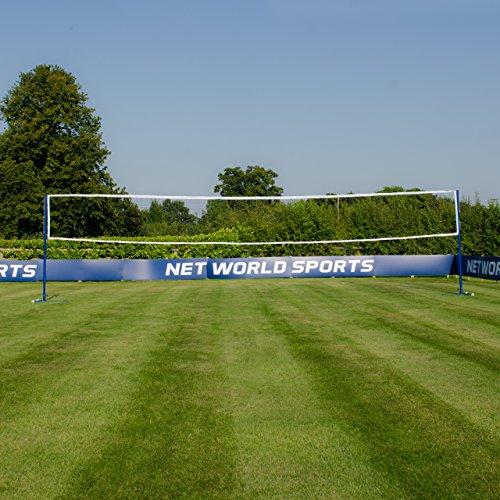 Vermont Badminton/Volleyball freistehende Kombinationen Pfosten - wählen Sie entweder die Pfosten nur oder Pfosten mit Netz unten aus (Pfosten und Netz)