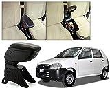 #6: Auto Pearl - Premium Quality Black Armrest Console Box For - Maruti Suzuki Alto