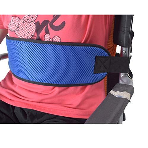 51dU14RK1zL - SUPVOX Cinturón de Silla de Ruedas Arnés de Seguridad para Pacientes Discapacidades