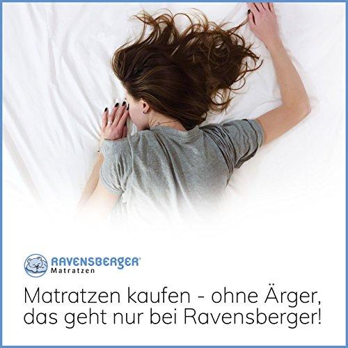 Ravensberger 7-Zonen NATUR Latexmatratze LATEXCO 85% Natur H3 - 9