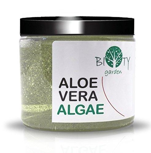 Feuchtigkeitsspendende Körper Gel (bioty Garden 3in1Aloe Vera Gel und Algenextrakten Gesicht & Körper Feuchtigkeitspflege Minceur * Detox)