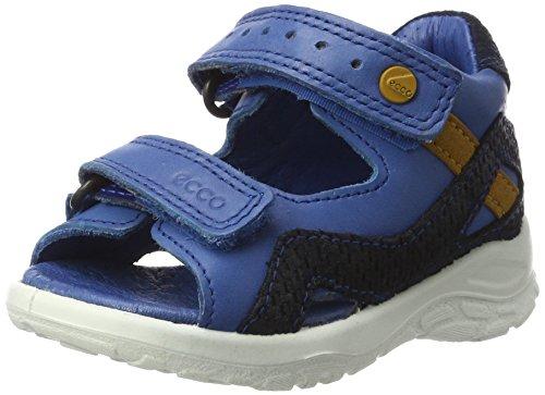 Ecco Baby Jungen Peekaboo Lauflernschuhe, Blau (50455COBALT/Marine), 26 EU