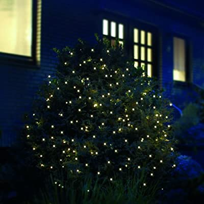 LED Lichternetz 2x2 m 160 LED Lichtnetz 2 x 2 m warmweiß innen außen von F-H-S International GmbH & Co. KG auf Lampenhans.de