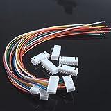 DXEWSE xh2.54-7p einzigen Kopfdraht mit Drahtklemmen (5 Stück)