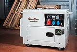 Diesel Stromerzeuger 5500W-220/380Stumm geschaltet
