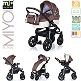 My Junior+® Miyo Kombikinderwagen 3 in 1-3 Years Guarantee-Autositz...