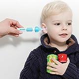 Limpiador de cera para los oídos, Leegoal (TM), herramienta eléctrica para quitar la oreja con luz LED para niños, bebés y adultos