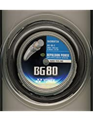 YONEX BG 80 NOIR