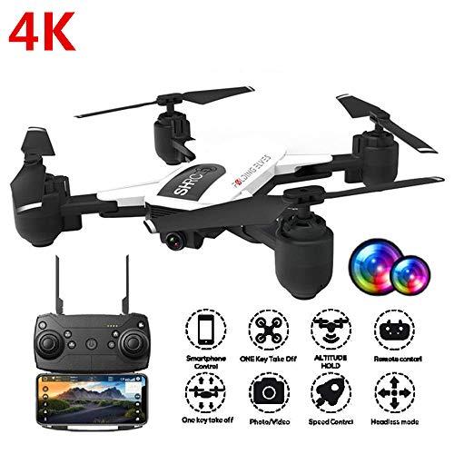 Drone RC Droni con Fotocamera 1080P WiFi FPV Gesture Foto Video Altitude Hold Pieghevole RC Selfie Quadcopter,Drone GPS 4K Telecamera WiFi App Controllo Drone Pieghevole Selfie,modalità Seguire