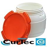 Curtec Kunststofffass 10,4 Liter Kanutonne Gepäcktonne wasserdicht Weithalsfass - 3