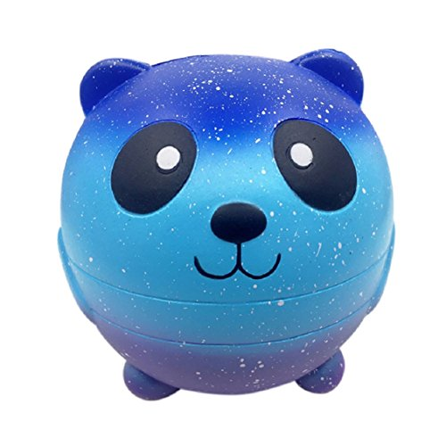 eeze Spielzeug, mamum Starry Cute 11cm Panda Baby Creme Duft Squishy Slow Rising Squeeze Kinder Spielzeug (Baby Fußabdruck Cutter)