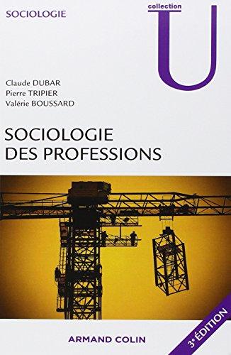 Sociologie des professions - 3e d.