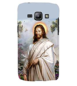 ColourCraft Lord Jesus Back Case Cover for SAMSUNG GALAXY J1