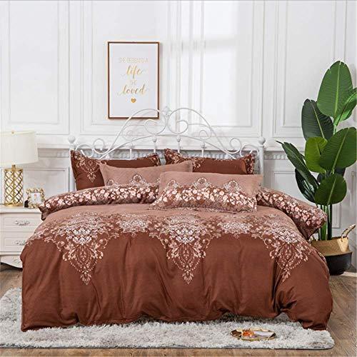SHJIA Bettwäsche-Set Bettwäsche Twin Königin King Size Quilt Bettbezug Set Bettwäsche Baumwolle B 220x240cm