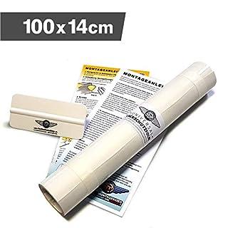 Lackschutzshop - Lackschutzfolie Schutzfolie Klebefolie transparent universal 140x1000mm selbstklebend 150µm