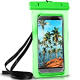 ONEFLOW Wasserdichte Hülle für LG | Full Cover in Grün 360° Unterwasser-Gehäuse Touch Schutzhülle Water-Proof Handy-Hülle für LG G7 ThinQ G6 G5 G4 G3 G2 G1 G Flex 2 UVM Case Handy-Schutz
