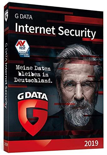 G DATA Internet Security (2019) / Antivirus Software / Virenschutz für 3 Windows-PC / 1 Jahr / Trust in German Sicherheit
