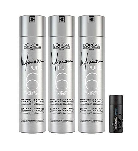 Loreal 3 er Pack Loreal Infinium Pure Soft 500 ml + Sebastian Hydre Shampoo 50ml