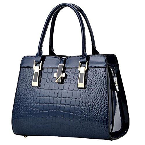 Tasche Blue Schulter Messenger Bag Age Middle Zhi Mutter WU Handtasche Dame xwqvXUFB