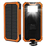 Best Solar Charger Androids - 15000mAh Solar Charger F.Dorla Portable Power Bank Solar Review