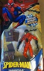 Spiderman Action Figure Tarantula with Break apart crates