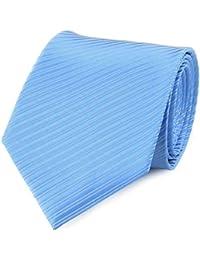Cravate faux uni bleu ciel