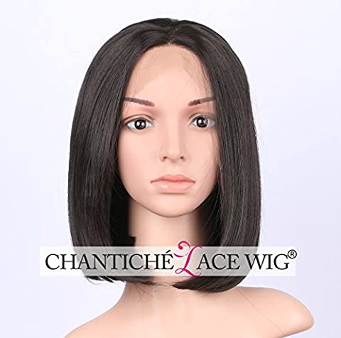 Chantiche Cheap Short Bob perücken for Black Women Soft Hair Straight Brown perrücke Heat Resistant Synthetic Lace Front Wig 12 Inch #4