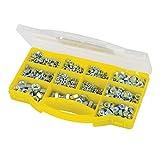 Silverline 980986 - Juego de tuercas hexagonales (1.000 pzas)