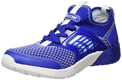 Geox Jungen J Sveth  A Low-top Sneaker, Blau (Royal), 26 EU