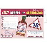 Geldgeschenk Karte Rezept zum 18. Geburtstag mit Kräuterlikör A22101 Geburtstagsgeschenk(18)