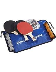 Joola Family - Set familiar de raquetas y pelotas de tenis de mesa