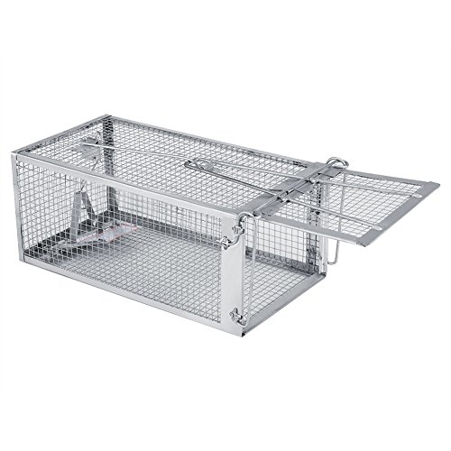 Mouse Trap Cage Rat Trap Cage Small Animal Pest Rodent Mouse Control Live Animal Bait Catch Trap