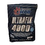 ULTRAFIX 4000 WEISS UND GRIGIO 5 KG Fliesenkleber für hochleistungsfähige Fliesen, ideal für Feinsteinzeug, Marmor, Steine und Beschichtungen. ICEA PREMISCELATI