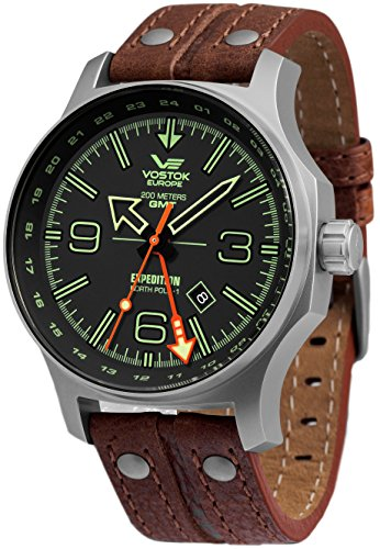 Montre Vostok Europe Expedition North Pole homme 515.24H-595A501